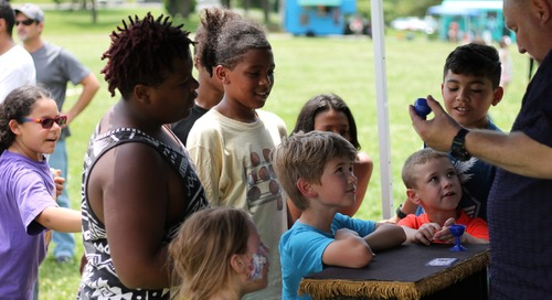 Annual Roanoke Kids to Parks Day Attendance Soars