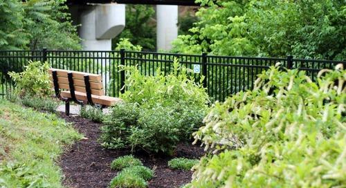 Volunteers Transform Dr. Keeley Healing Garden at Carilion