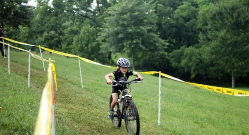 Youth Mountain Bikers Compete in Roanoke's Fishburn Park