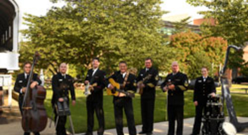 U.S. Navy Band Tour Once Again Selects Roanoke