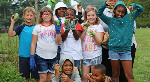 Roanoke Youth Learn How to Grow Their Own Veggies