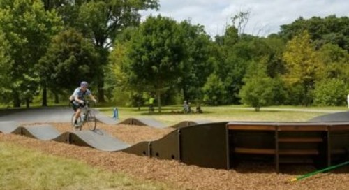 The Ins and Outs of the New Pump Track at Wasena Park
