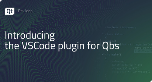 Introducing the VSCode plugin for Qbs