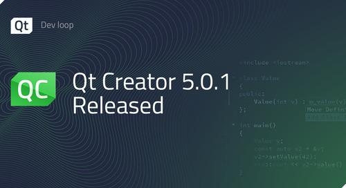 Qt Creator 5.0.1 released