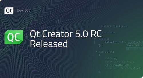 Qt Creator 5.0 RC Released