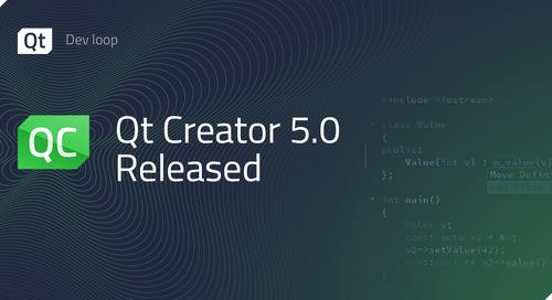Qt Creator 5.0 released
