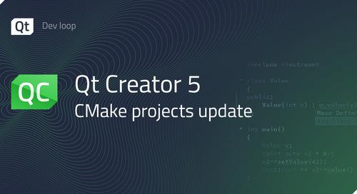 Qt Creator 5 - CMake projects update