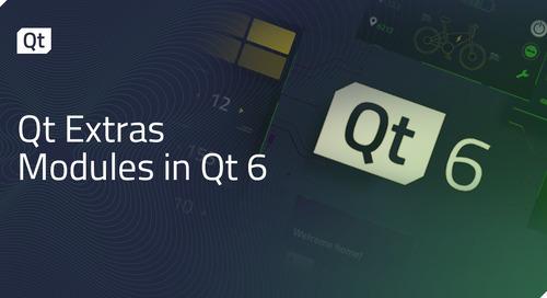Qt Extras Modules in Qt 6