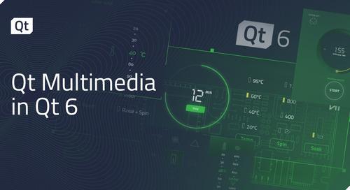 Qt Multimedia in Qt 6