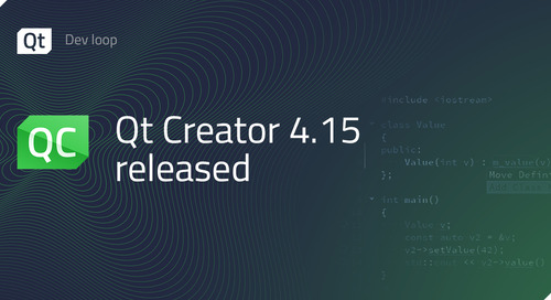 Qt Creator 4.15 released