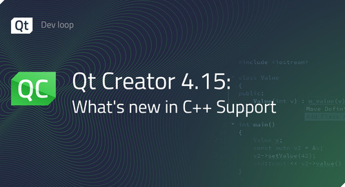 Qt Creator 4.15: What's new in C++ support?