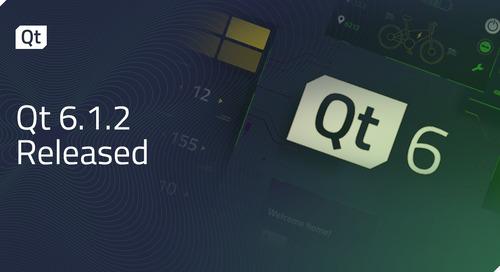 Qt 6.1.2 Released