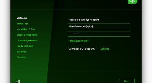 Qt Online Installer 4.0.1-1 Released