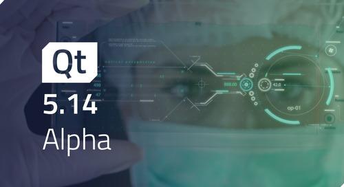 Qt 5.14 Alpha Released