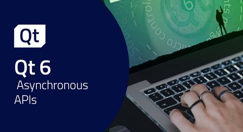Asynchronous APIs in Qt 6