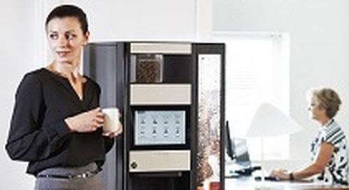 Evoca Group – Smooth Coffee Machine UI