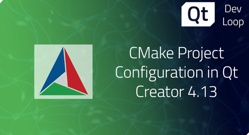 博文 | Qt Creator 4.13中的CMake项目配置
