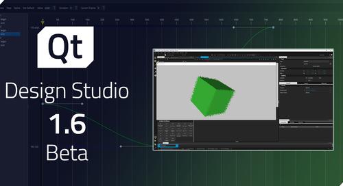 Qt Design Studio 1.6 Beta released