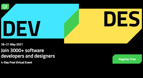 Network, learn and get inspired together - DEV/DES DAYS 2021
