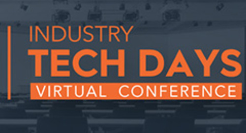 Industry Tech Days 2021 - Virtual conference - Sep 13, 2021