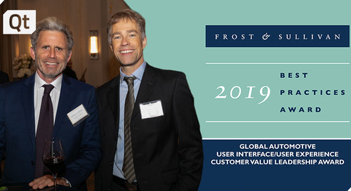 Frost & Sullivan Presents Qt with its Customer Value Leadership Award