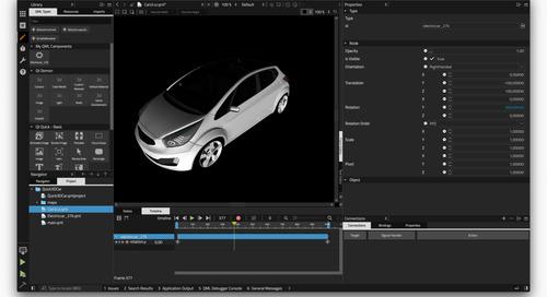Qt Quick 3D介绍:Qt Quick的高级3D API