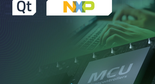 On-demand training: Creating User Interfaces for Microcontrollers (NXP) - Nov 5, 2021