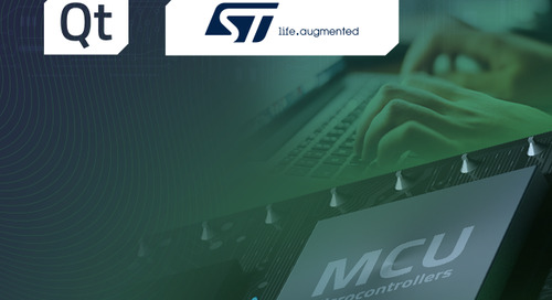 Programming for Microcontrollers with Qt (STMicroelectronics) - Jun 29, 2021