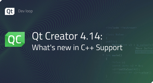 Qt Creator 4.14: What's new in C++ support?