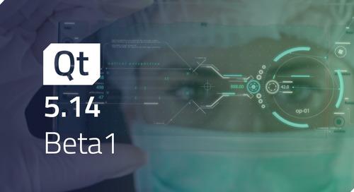 Qt 5.14.0 Beta1 Released