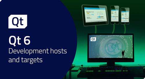 博文 | Qt 6.0中的主机开发平台和目标开发平台