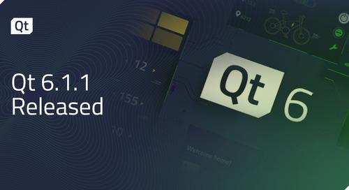 Qt 6.1.1 Released