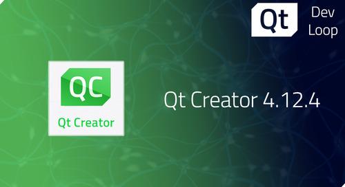 Qt Creator 4.12.4 released