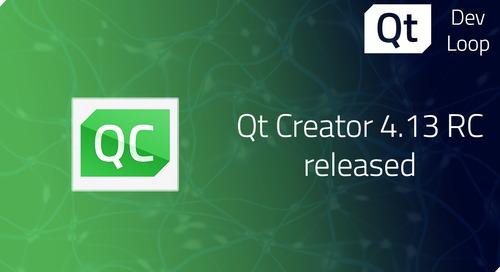 Qt Creator 4.13 RC released