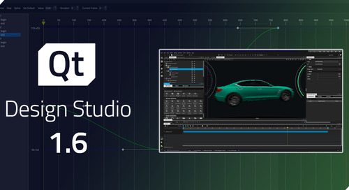 Qt Design Studio 1.6 released