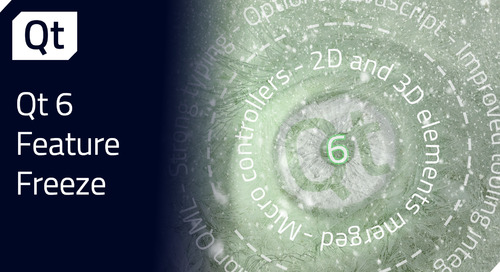 Qt 6.0 Feature Freeze Milestone Reached