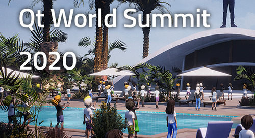 Qt World Summit 2020 agenda released! More news on Qt 6, straight from the source.