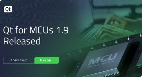 博文 | Qt for MCUs 1.9正式发布