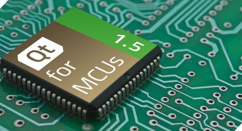 博文 | Qt for MCUs 1.5发布了