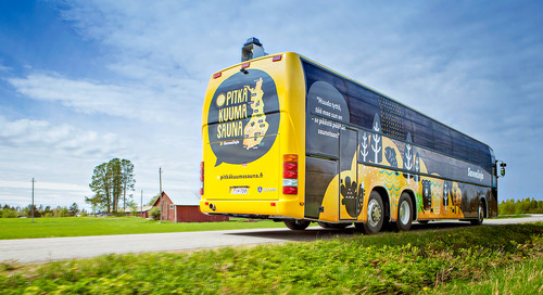 Savonlinja – The Digital Transformation of the Most Enjoyable Bus Company