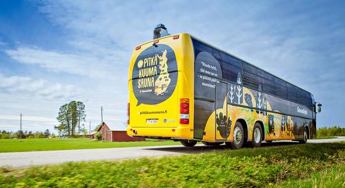 Savonlinja – The Digital Transformation of the Most Enjoyable Bus Company
