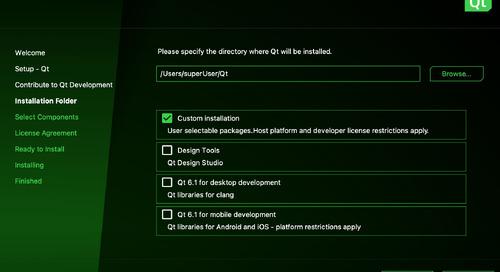 Qt Online Installer 4.1.1 released