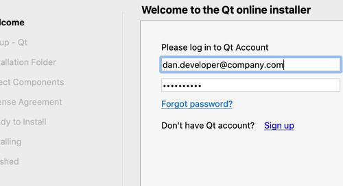 Qt Online Installer 4.0 pre-alpha released