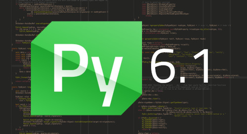Qt for Python: details about the 6.1 release🐍