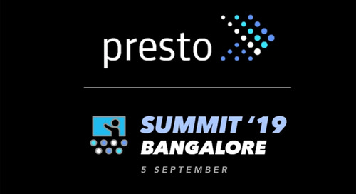 Announcing Presto Summit India on September 05, 2019