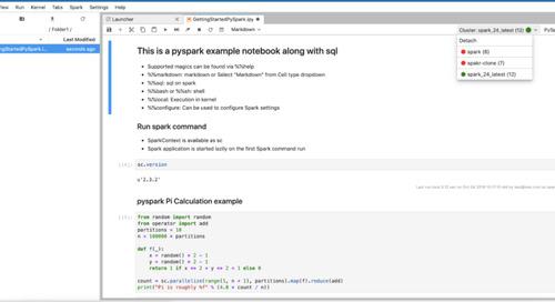 New Enhancements for Qubole Notebooks