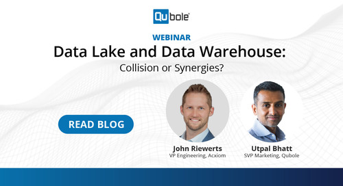 Data Lake and Data Warehouse- Collision or Synergies