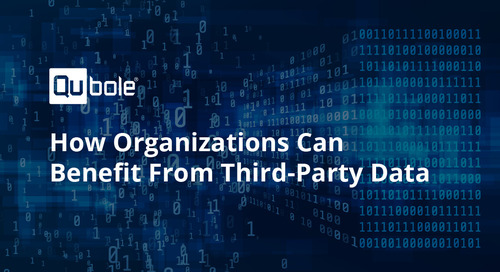 How Organizations Can Benefit From Third-Party Data