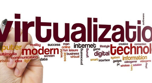Five tips for easing into virtualization
