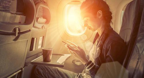 Jangan Lupa Pakai Tabir Surya Saat Naik Pesawat